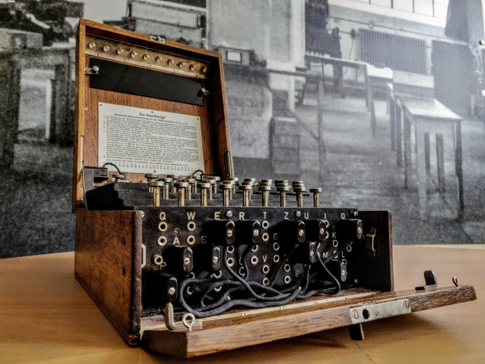 Mathematical Objects: Enigma machine with Tom Briggs
